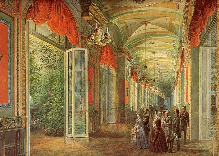 Помпейская галерея Зимнего дворца.