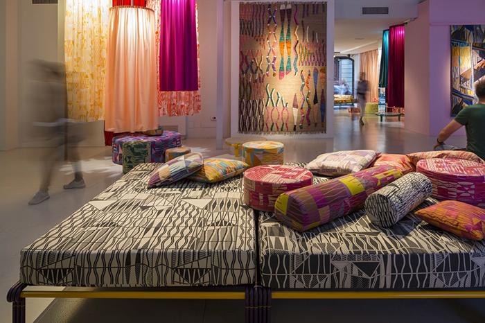 Текстиль в мексиканском стиле.