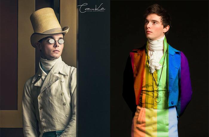 Зак Пинсент и его наряды. Источник - @pinsent_tailoring.