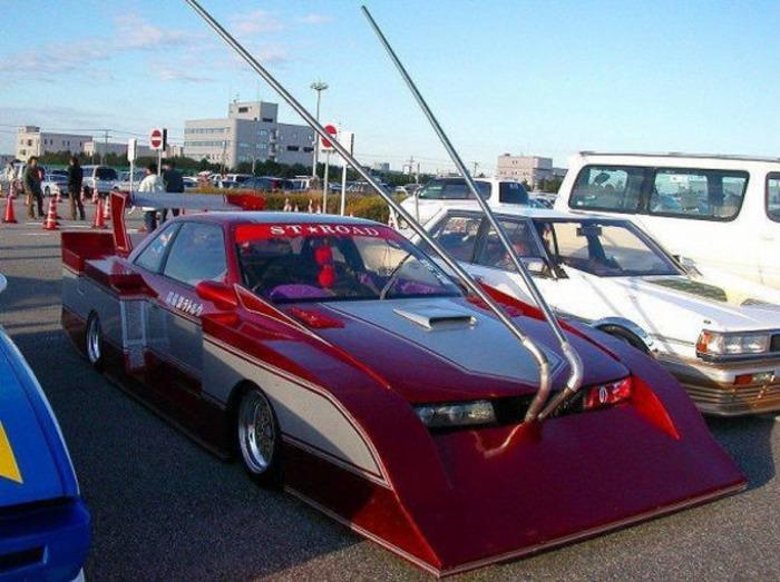 Один из вариантов тюнинга автомобилей в стиле босодзоку. /Фото: motor1.com