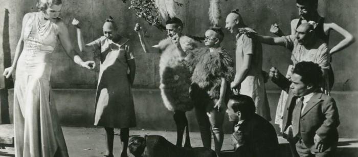 Кадр из фильма «Уродцы» (1932)