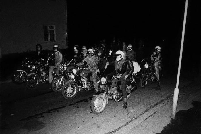 Советские рокеры неосознанно подражали именно босодзоку. /Фото: foto-history.livejournal.com
