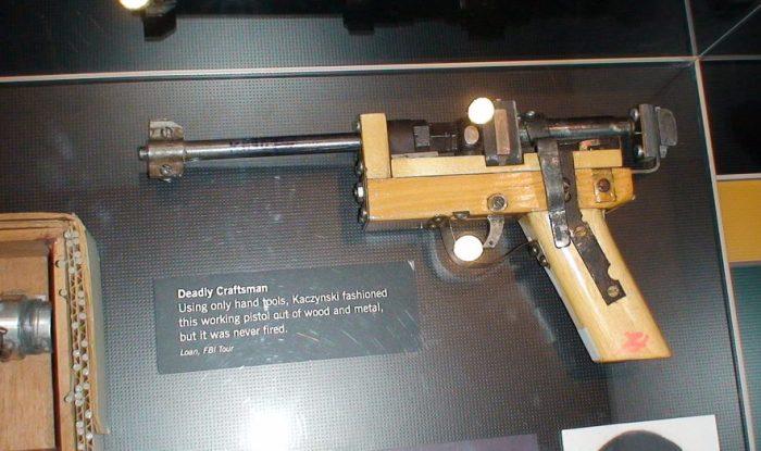 Помимо бомб, Качинский  увлекался ещё и изготовлением кустарного огнестрельного оружия. Ему сильно повезло, что этот самопал он так и не успел испытать. /Фото:  www.australianetworknews.com