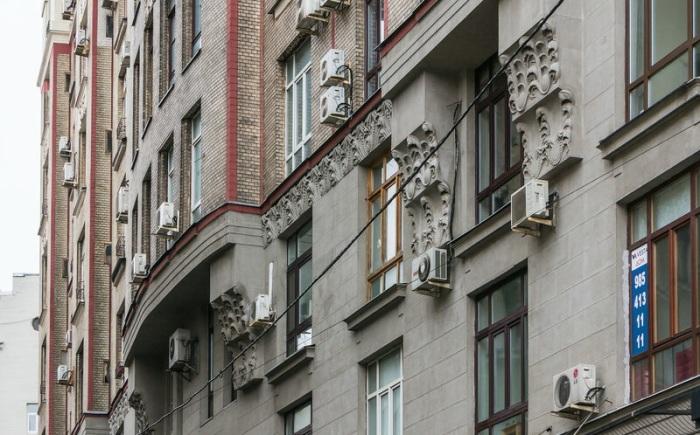Фасад знаменитого дома. /Фото:vladimirdar.livejournal.com