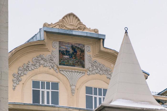 Фрагмент здания. /Фото:vladimirdar.livejournal.com