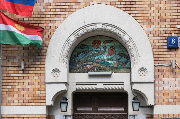 Фрагмент уникального дома. /Фото:vladimirdar.livejournal.com