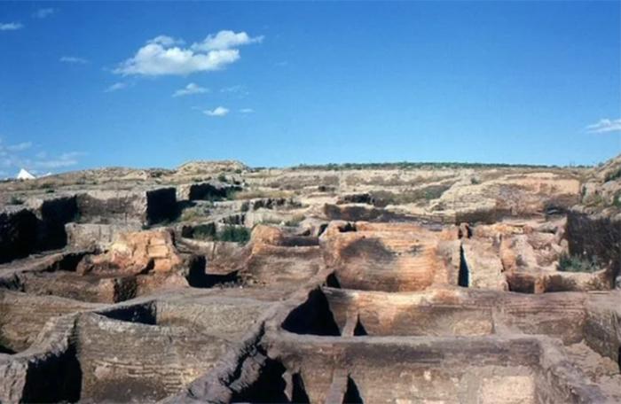 Чатал-Хююк после первых раскопок. /Фото:Омар Ховтун