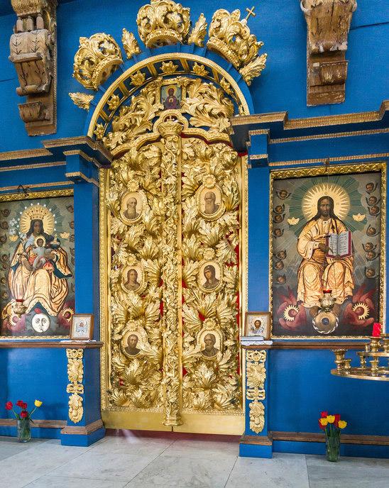 Храм внутри. /Фото:vladimirdar.livejournal.com