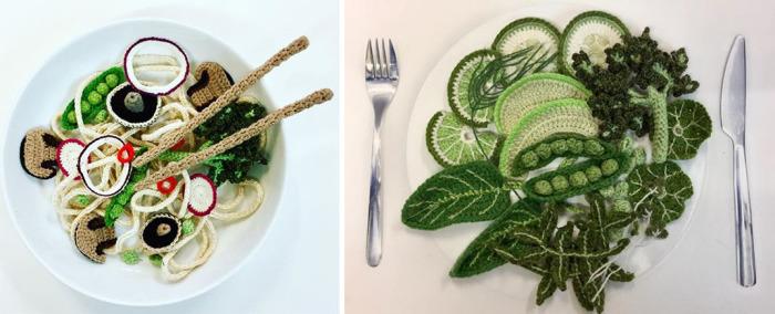 Блюда Кейт поражают оригинальностью и точностью деталей. /Фото со странички Кейт в Instagram