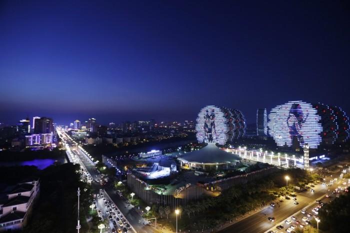 Ночная иллюминация. /Фото: avax.news