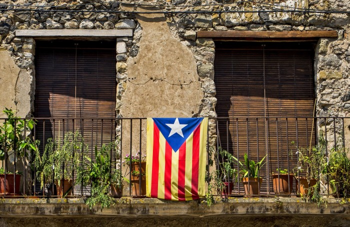 Балкончик одного из домов. /Фото:Luis Tejero, flickr.com