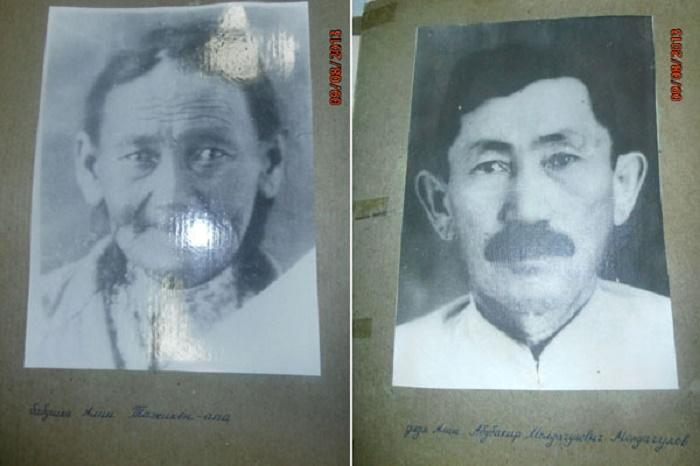 Бабушка и дядя Алии. /Фото: vechastana.kz