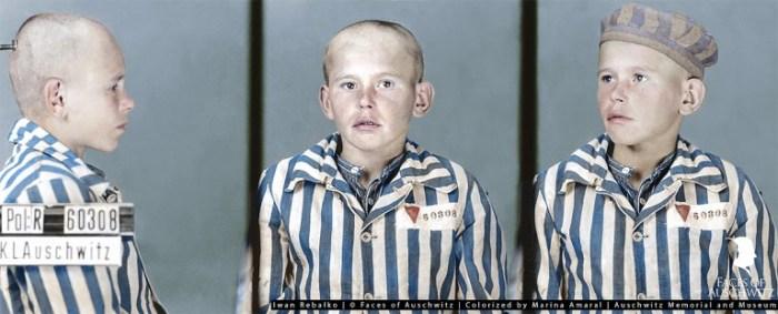 Фото Вани, сделанные в Освенциме.