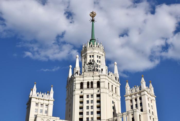 Высота здания - почти 180 метров. /Фото:liveinternet.ru