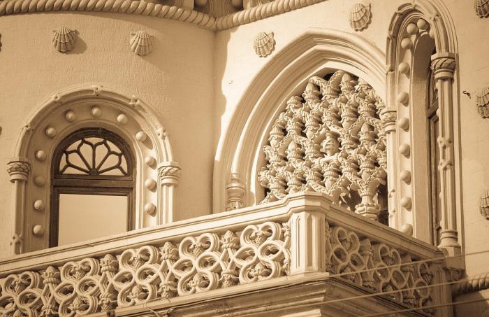 Фантазия архитектора не знала границ. /Фото:blogspot.com