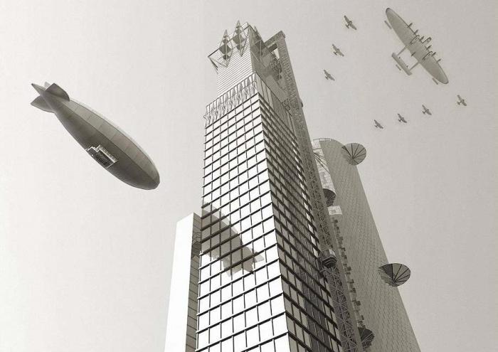 А вот конкурсный проект Ивана Леонидова был раскритикован, хотя на сегодняшний день он кажется вполне современным.