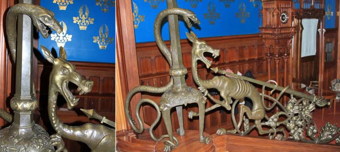 Внутри дома намного эпатажнее, чем снаружи. /Фото:mu-pankratov.livejournal.com