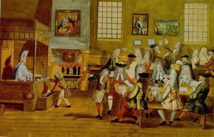 В Англии первым «студентам» так понравилось, что возвращаться в Россию они отказались наотрез. /Фото:100years100facts.com