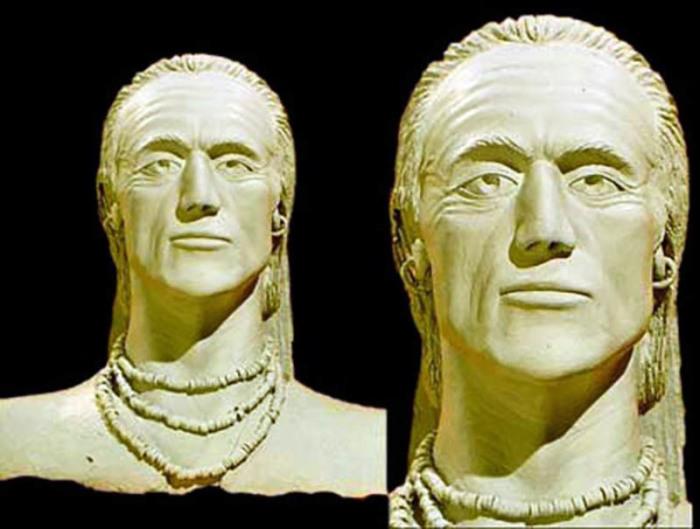 Учёным удалось воссоздать лицо мужчины, погребенного в могиле №43. /Фото:brat-bg.com