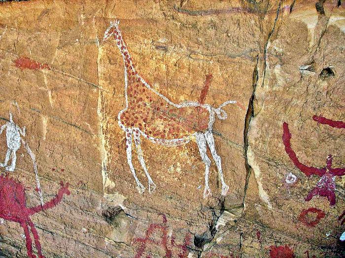Наскальные рисунки подтверждают, что здесь была вовсе не безлюдная пустыня. /Фото:Roberto D'Angelo