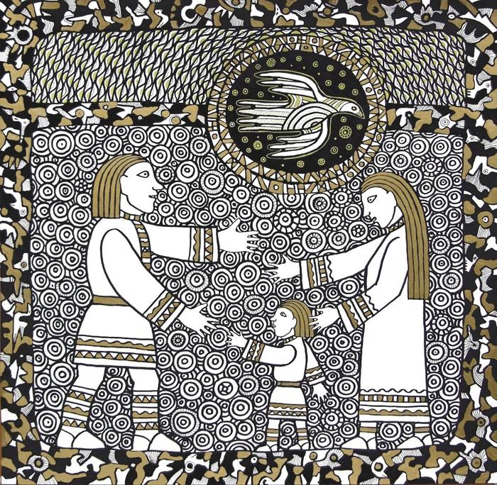 Уникальное творчество уральского художника пропитано народными мотивами. Фото: liveinternet.ru