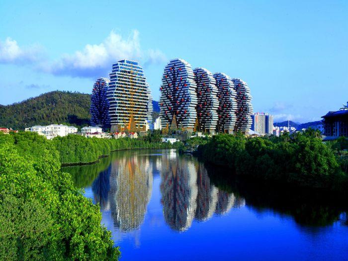 Дома-деревья в Китае. /Фото:agoda.net