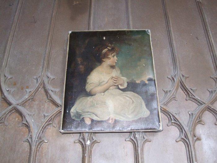 Считается, что это портрет той самой погибшей девочки. /Фото:tropinki.eu