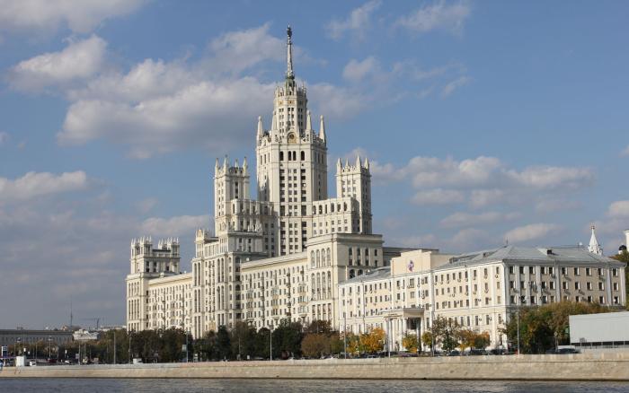 Помпезные высотки стали нашим ответом американским небоскребам. /Фото:liveinmsk.ru