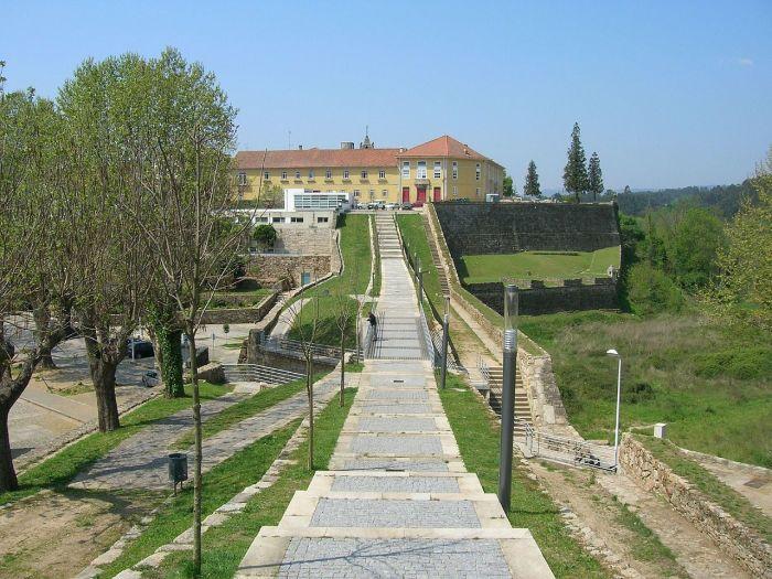 Городская крепость в наши дни.