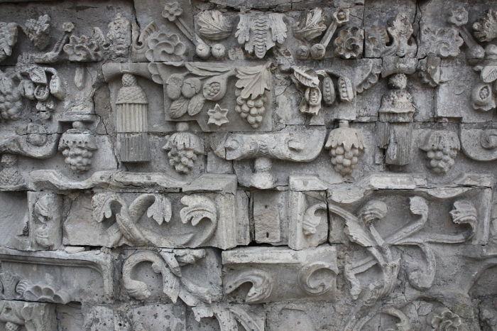 Фрески на стене храма. /Фото:wikipedia.org