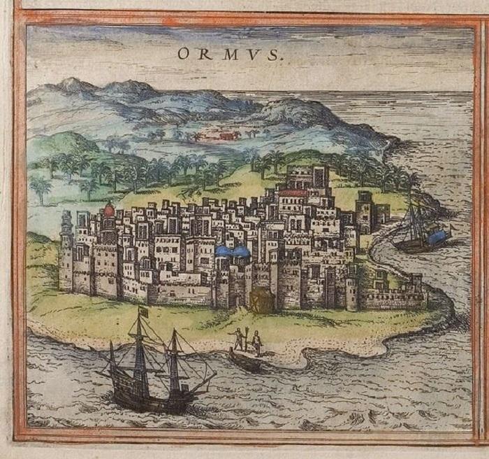 Остров на рисунке XVI века.