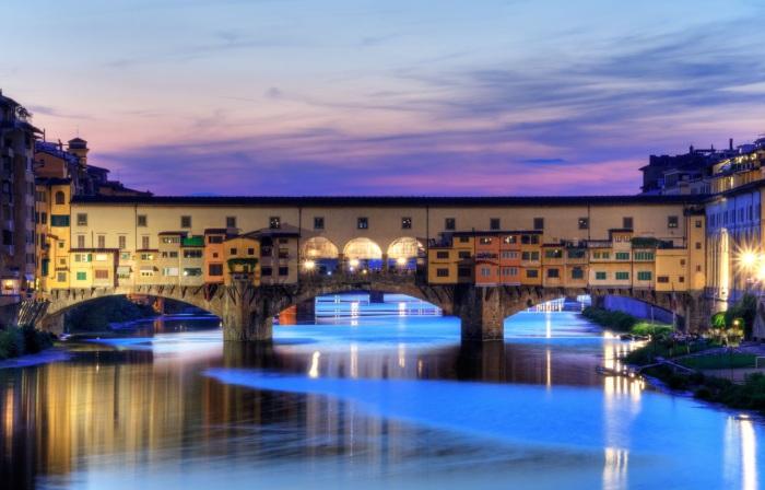 Дом-мост во Флоренции. /Фото:superedo.it