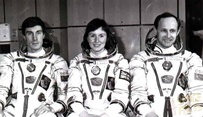Команда космонавтов (Сергей Крикалёв - слева). 1992 год. /Фото:gov-news.ru