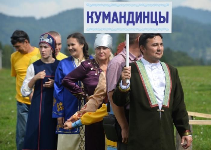 Cовременные кумандинцы на празднике коренных народов. /Фото:gorno-altaisk.info