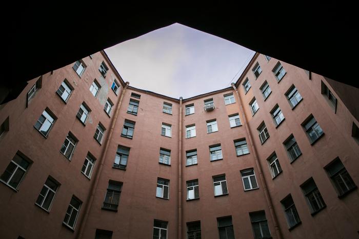 Двор-многогранник довольно просторен. /Фото:Spb63.blogspot.com