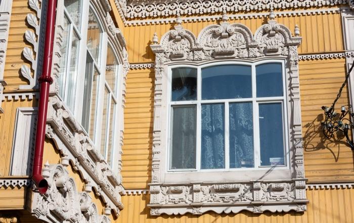 Дом с жар-птицами потрясает обилием декоративных элементов. /Фото: tomsk.ru/Фото: tomsk.ru