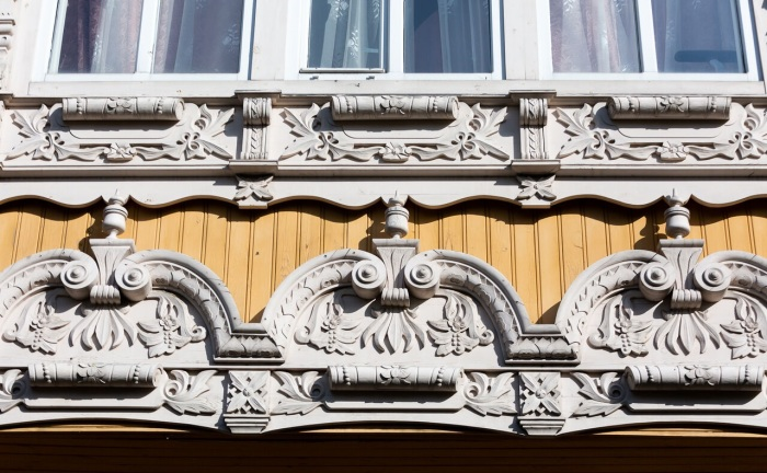 Дом очень богато украшен и в некоторых его элементах историки видят символизм. /Фото: tomsk.ru