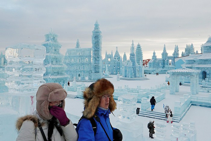 Ежегодно ледовый праздник посещают до 10 миллионов туристов./Фото:portamur.ru