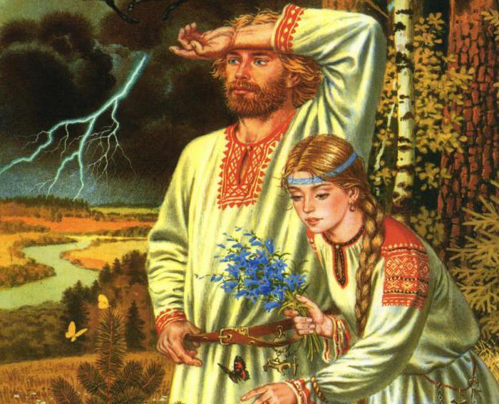 Расхожее, но не научное представление современного человека о древних славянах. /Фото:liveinternet.ru