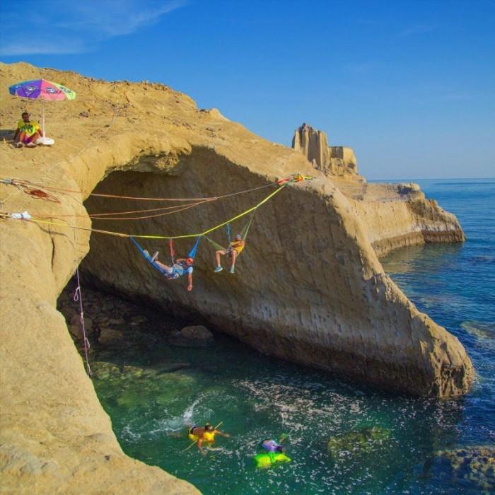 Красоты побережья. /Фото: sanaei.livejournal.com