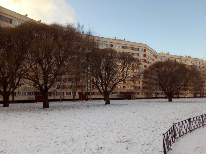 Вереница секций растянулась на сотни метров. /Фото: yadi.sk, пользователь domavspb