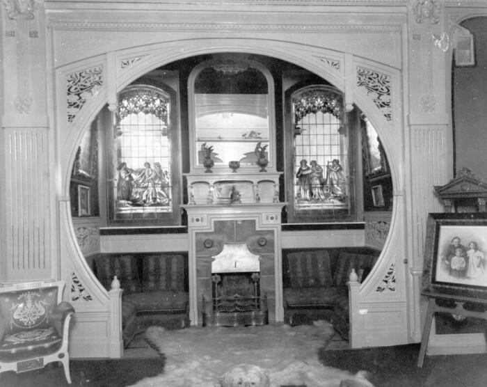 Так выглядел дом внутри. /Архивное фото