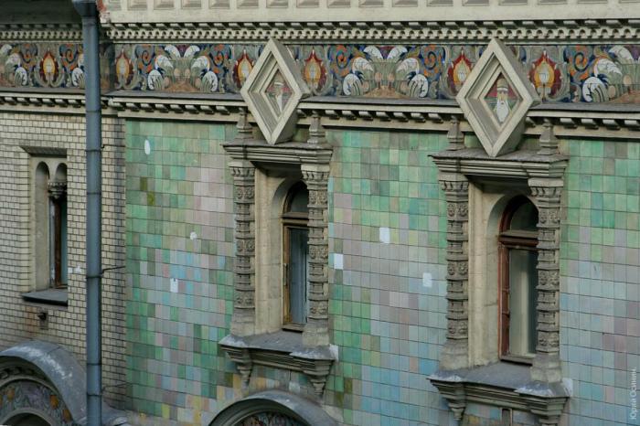 Восхитительная мозаика на стенах. /Фото:Юрий Осинин