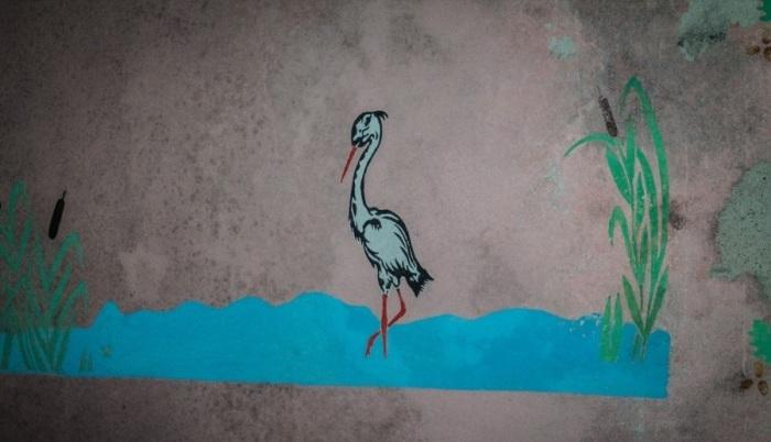 Картинка на стене - из советского прошлого. /Фото:Александр Посталовский