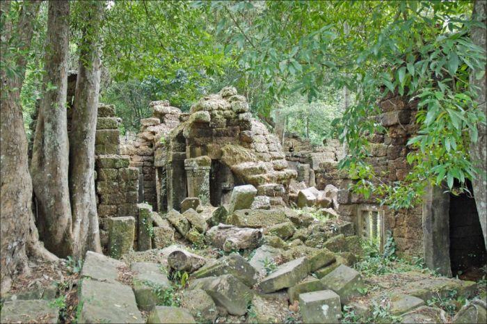 Джунгли Камбоджи скрывают много древних сюрпризов. /Фото:rtvi.com