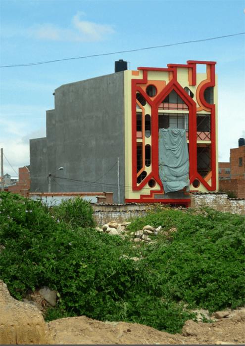 Дом на стадии строительства. /Фото:nineteensixtyeight.com