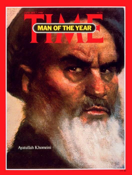Хомейни оказал существенное влияние на мировую политику. /Обложка журнала Time