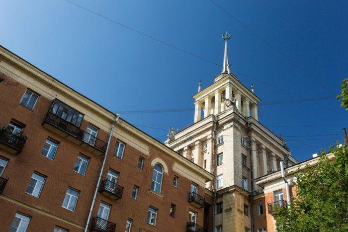 Фрагмент здания. /Фото:the-village.ru