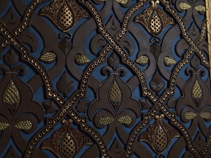 Курительная комната оформлена в мавританском стиле. /Фото:liveinternet.ru