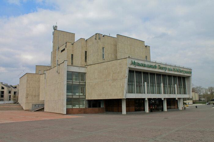 Музыкальный театр. /Фото: baik-info.ru